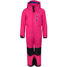 TROLLKIDS Isfjord Combinaison de ski Enfant, magenta